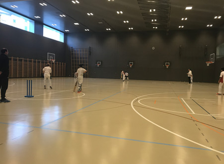 Surrey Junior Indoor Cricket League continues