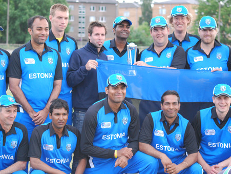Estonia to play in Tri-nation ODI series