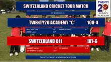 "Academy ""C"" team overcome Switzerland U11 in tight finish"