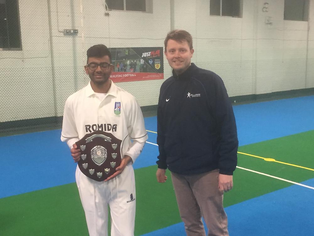Sarvesh Thiruchelvam Young Player of the Tournament
