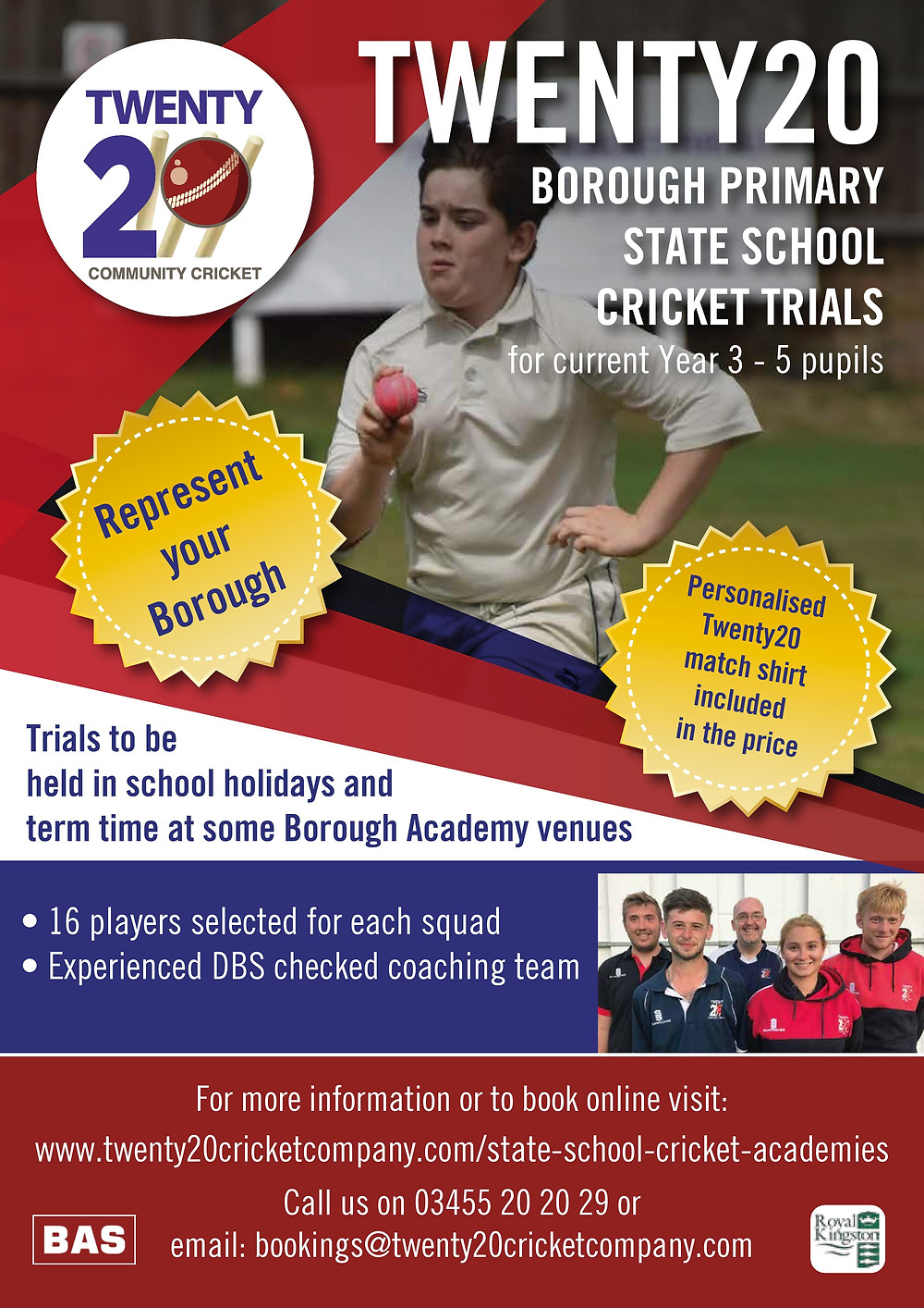 Borough State School Cricket Trials