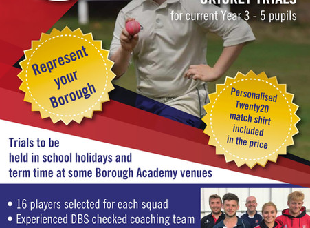 2018-19 Borough State School Academy Trial dates announced