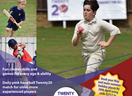 Twenty20 Cricket welcomes young cricketers from Europe to their summer courses