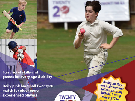 Summer Holiday Surrey Cricket Camps - Early Bird opens!