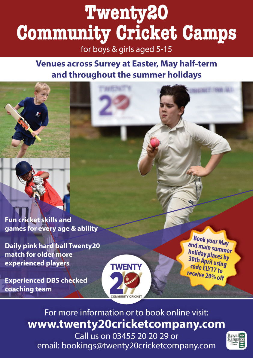 Twenty20 Community Cricket Summer Camps