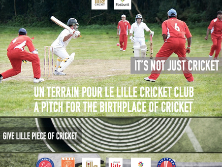 Crowdfunding Fosburit Lille Cricket Club
