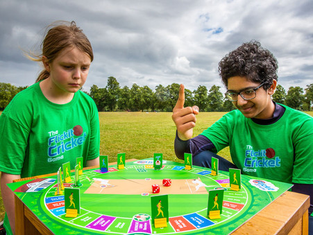 A great new board game for young cricket fans & all the family