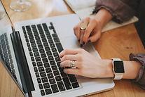 Escribiendo en ordenador
