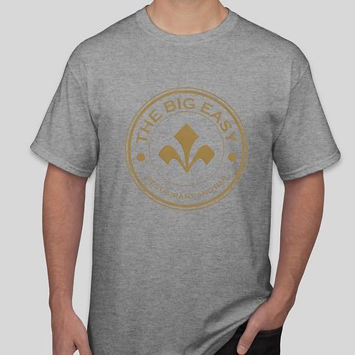 Mens Big Easy Gray Tee Shirt