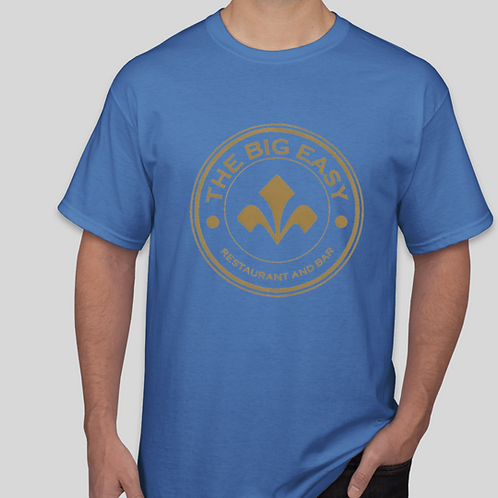 Men's Big Easy Blue Tee Shirt