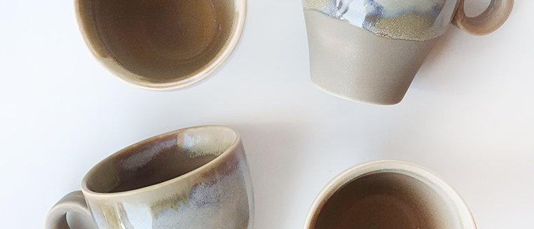 Coffee Ice Cream Drip Glaze Cup