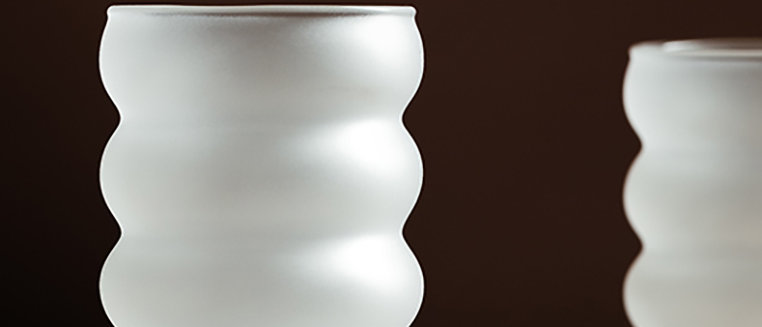 Frosted Silhoutte Cup