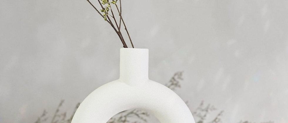 Bagel Vase