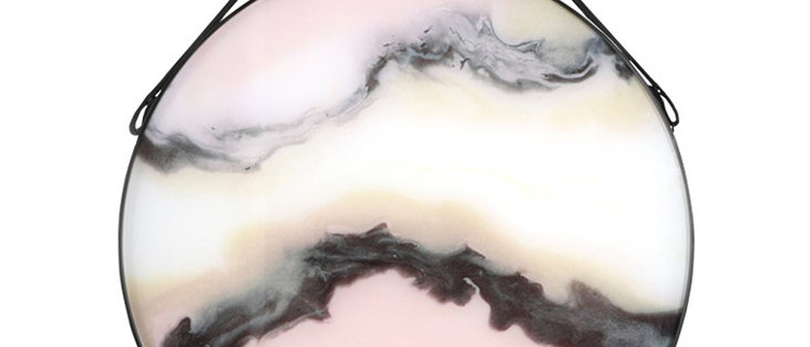 Marble Swirl Wall Hanging Circle