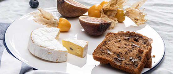 Classic Porcelain Round Cheese Platter