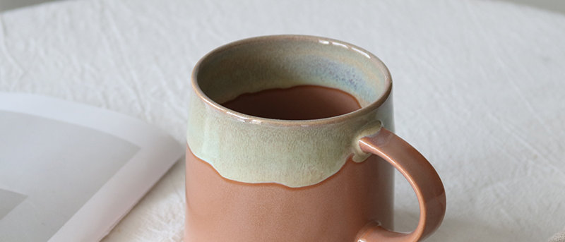 Lazy Morning Glazed Ceramic Mug