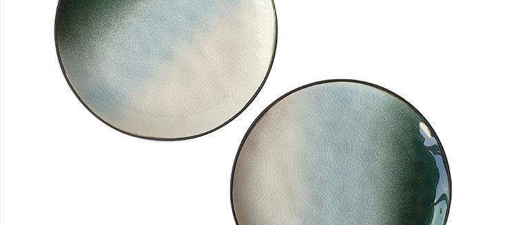 Tie Dye Poolside Small Plate