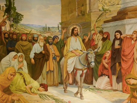 Matthieu 21.7, Jésus l'équilibriste ?