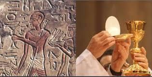 L'eucharistie plagié sur l'Égypte antique ?