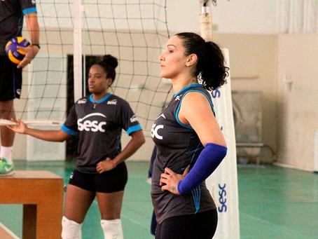 Com estreia de Tandara, SESC Rio disputa Carioca de vôlei com força máxima nesta sexta
