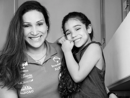 Mãe e atleta