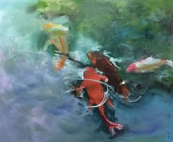 前程四錦_Good luck _oil on canvas _62x52cm