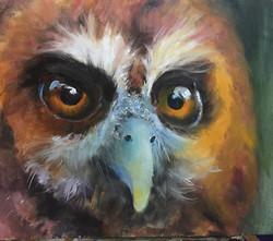 獵人_Hunting _oil on canvas _53x46cm