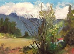 河邊_Riverside_oil on canvas _24x33cm