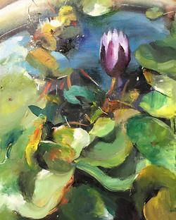 花開_bloom_Oil on canvas _24x33cm