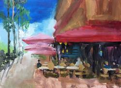 夏天_Summer time _Oil on canvas _24x33cm
