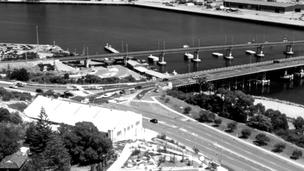Overlooking Fremantle Harbour