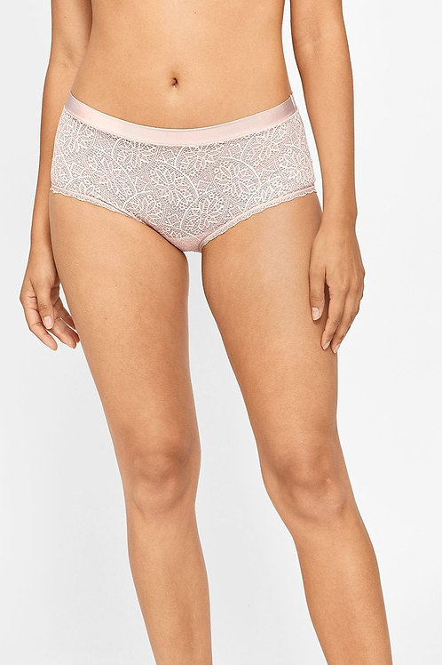 Berlei Barely There Lace Full Brief (Nude)