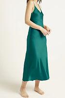Ginia 9617 long chemise emerald.jpg