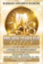 Pre-New Year's Gala Dec 2017 Postcard Fr