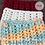 Thumbnail: Puffy V-Stitch Cowl, crochet pattern, pdf digital download
