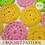 Thumbnail: Dish Scrubbie Pattern pdf and video tutorial