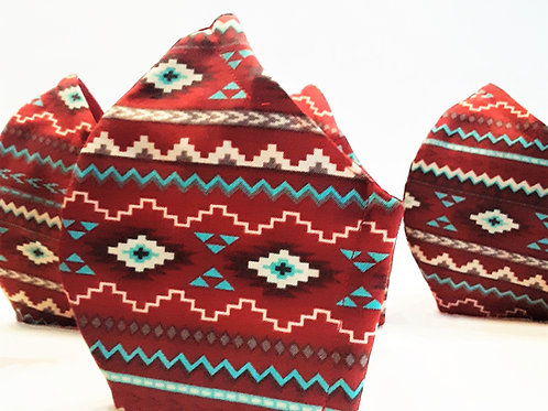 Tribal cotton face mask
