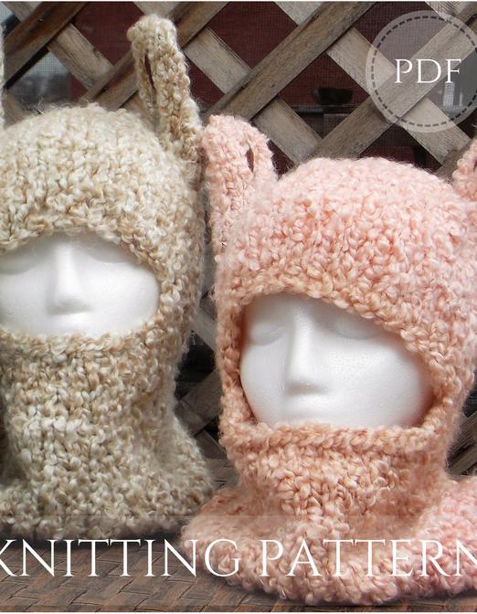 Llama Hat pdf - knitting pattern