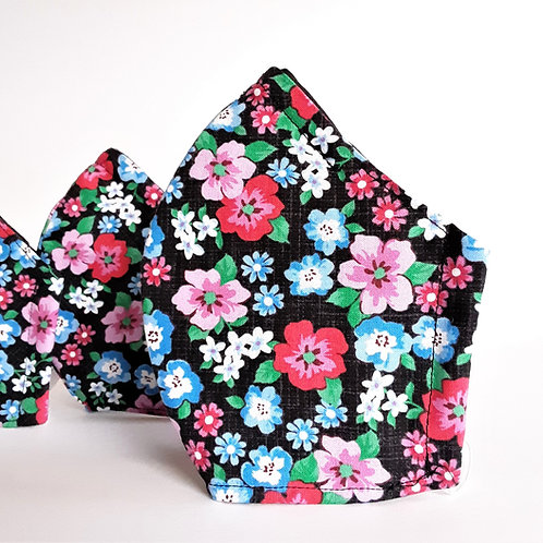 Little flower floral face mask