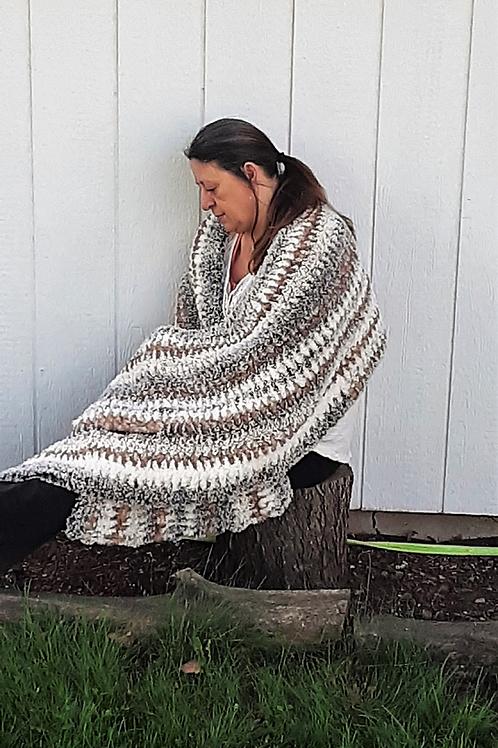 Go for Faux Avenue, Crochet Shawl Pattern