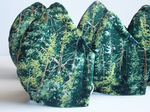 Pine Tree Face Mask