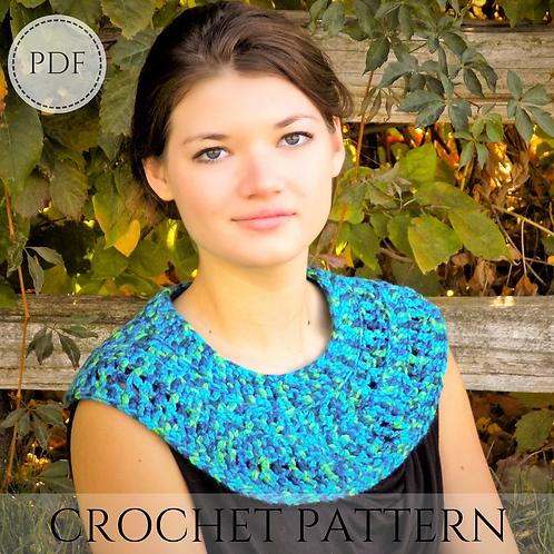 The Egyptian Collar - crochet pattern - PDF download