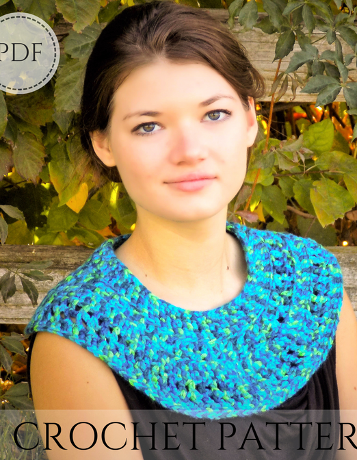 The Egyptian Collar crochet pattern - instant PDF download