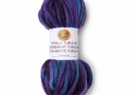 Lion Brand's Totally Tubular Yarn 4 for $10.--