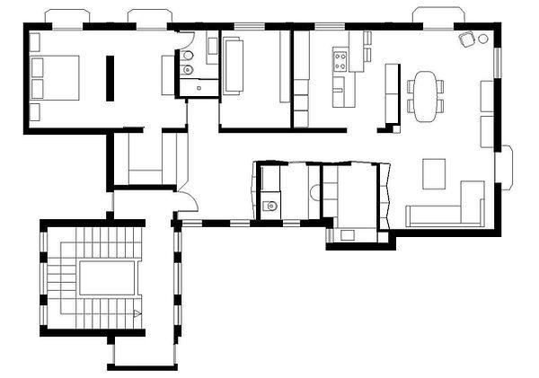 Pianta_progetto- studio4e - architetti p