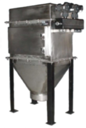 Bin Vent Dust Collector designed by Air Dynamics to handle all sorts of combustible dust and other particulate challenges in the factory or workplace.
