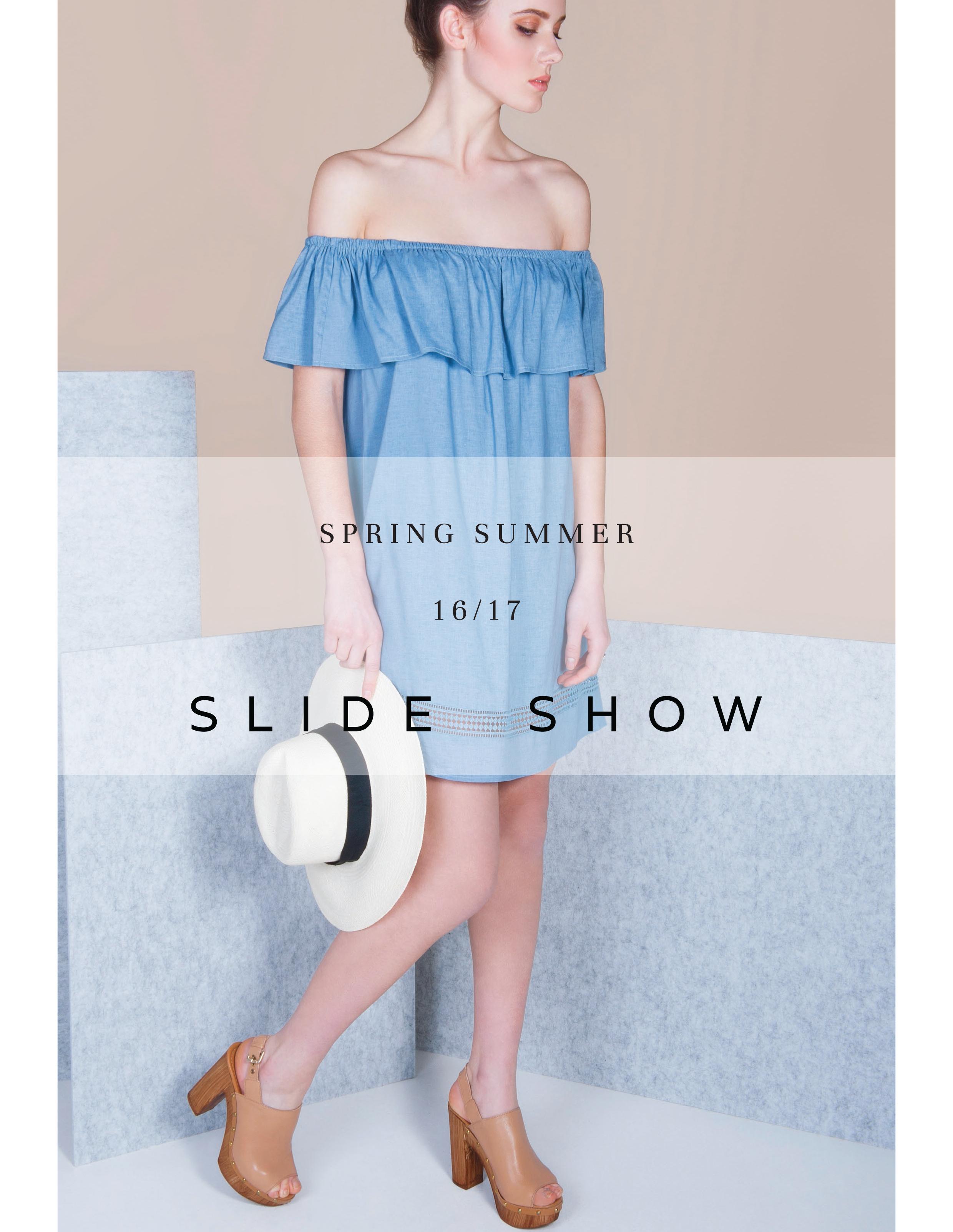 Slide Show Lookbook SS16/17