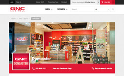 GNC Vic store location photography