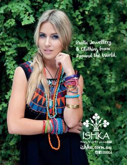 Ishka ad for Girlfriend Magazine