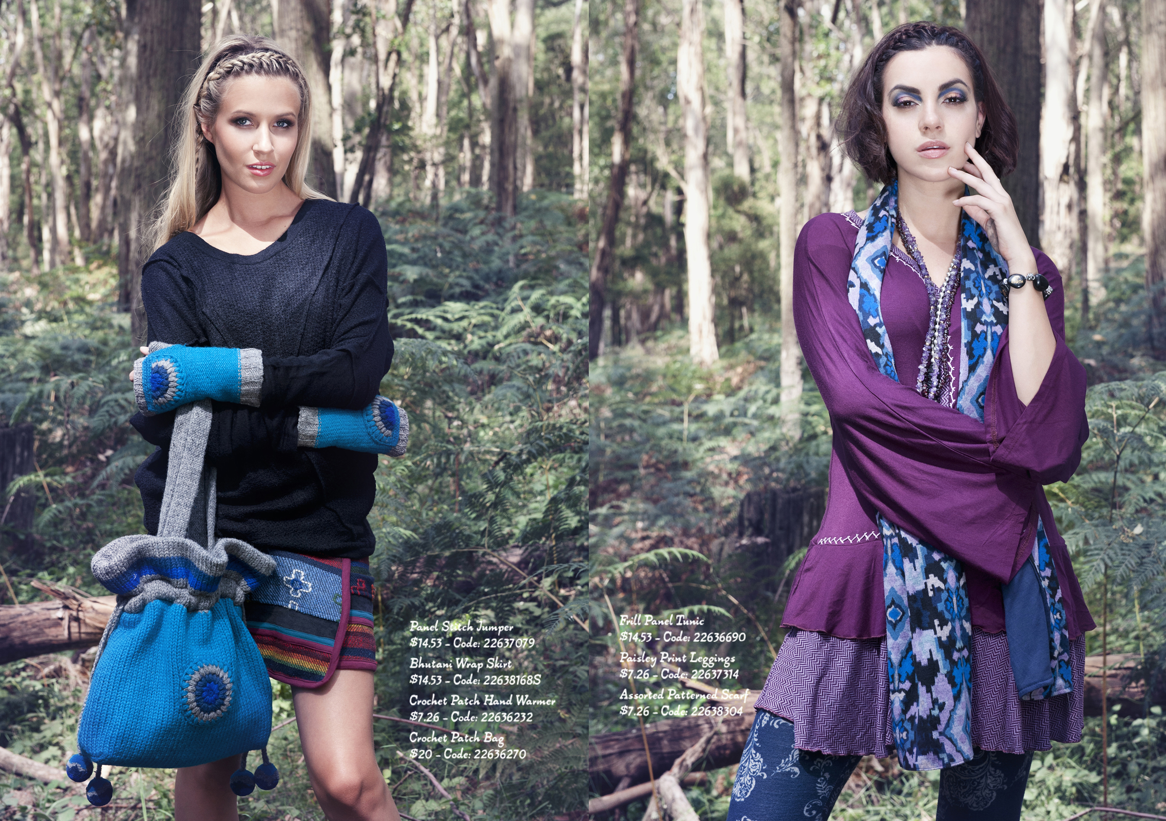 Ishka Winter 2015 Look book